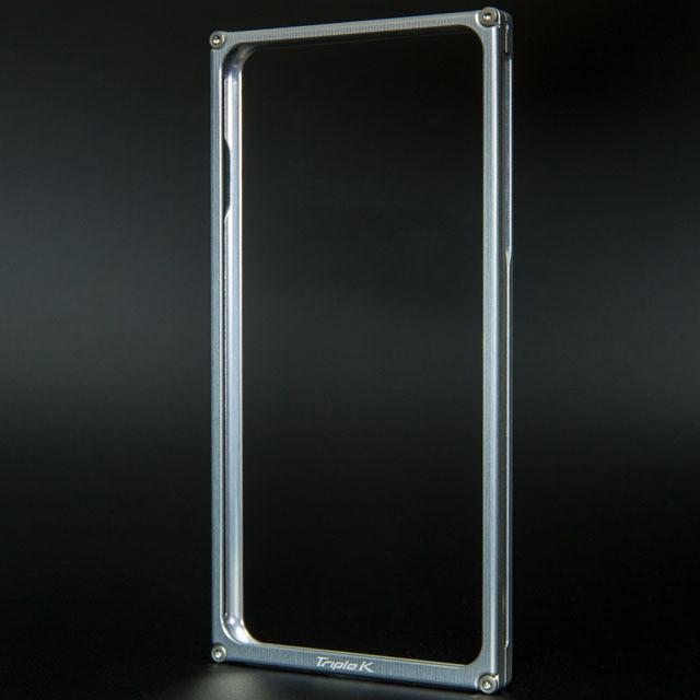 iPhone7Plusジュラルミンケース シルバー