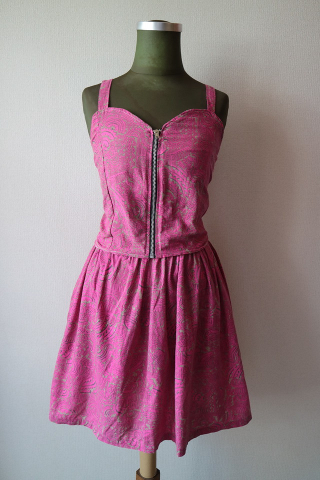 Summer dress set up -PINK-