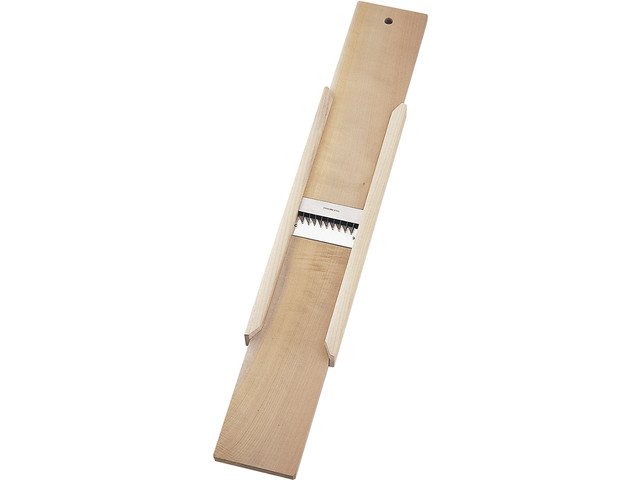 木製調理器 「切干突 おこし刃」(板の長さ約60cm)切干大根作りに!