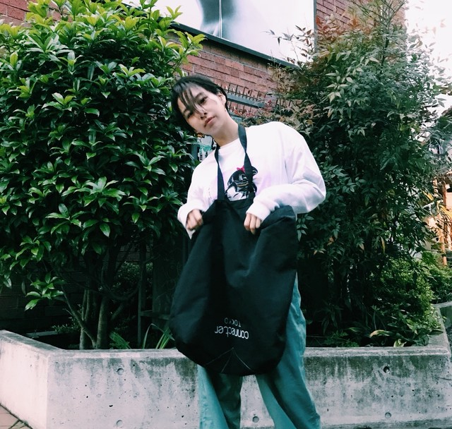 Connecter Tokyo × vast222  collaboration body tote bag