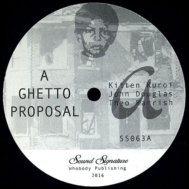 """【12""""】Theo Parrish - Goin' Downstairs"""