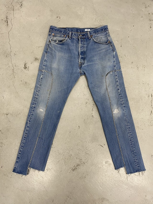 OLDPARK / WESTERN JEANS(IND,Mサイズ)
