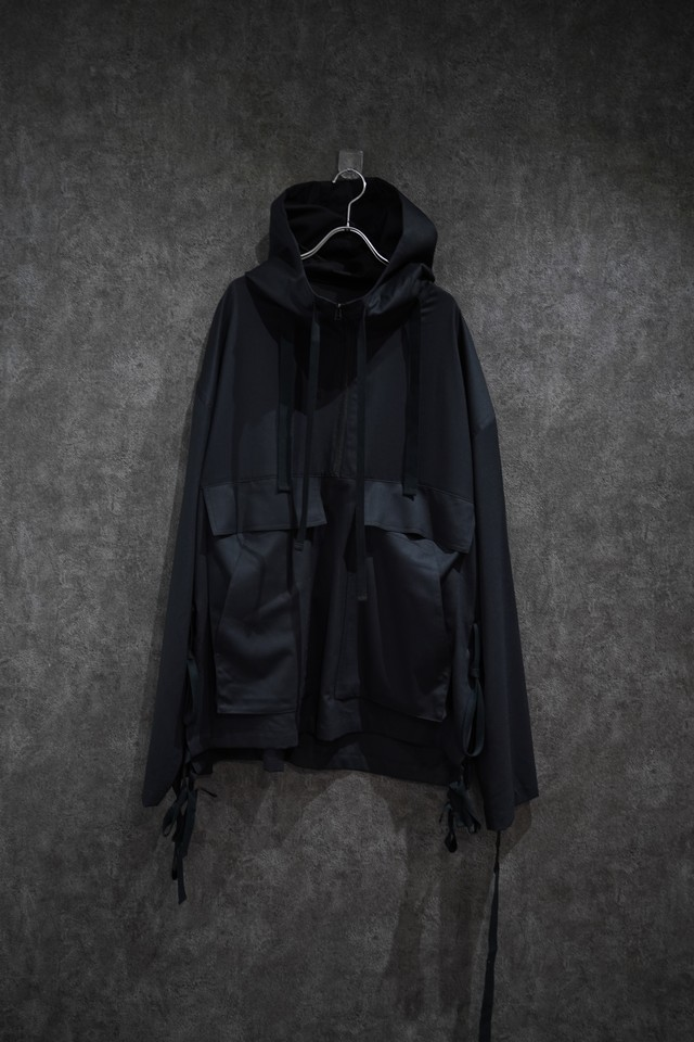 room.13  jacket-anorak Black