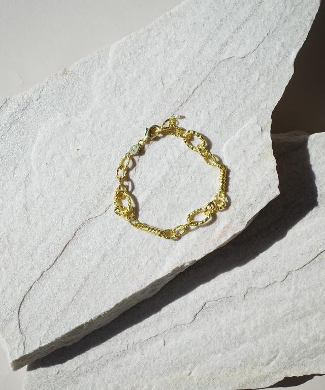 【ANNI LU /アニールー 】Cloudy Bay - Unchain Me Bracelet / ブレスレット / Gold