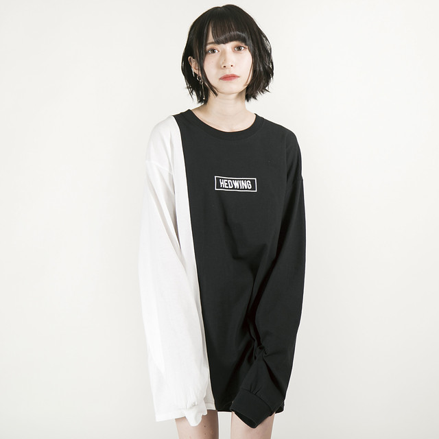 Crosscut Longsleeve T-shirt Black