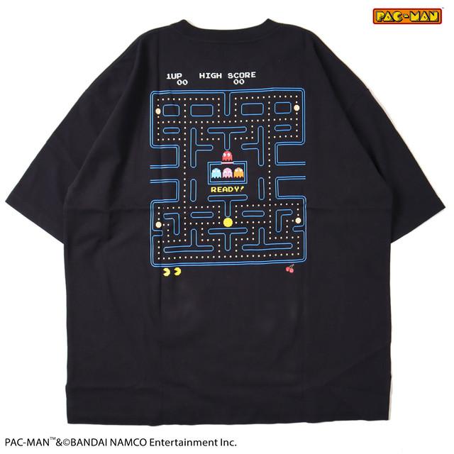 【PAC-MAN】メイズプリントBIG Tシャツ NO1515004