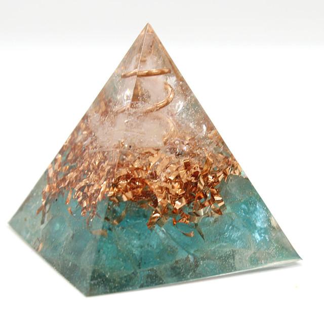 [受注製作] ピラミッド型Ⅱ 小瓶入りオルゴナイト ラピスラズリ