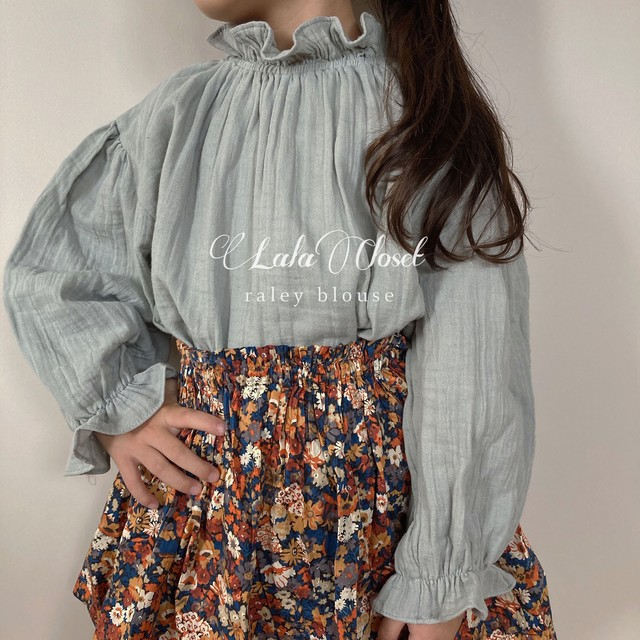 raley blouse (ブラウス/グレー) Pourenfant:POURFCX0013116_101