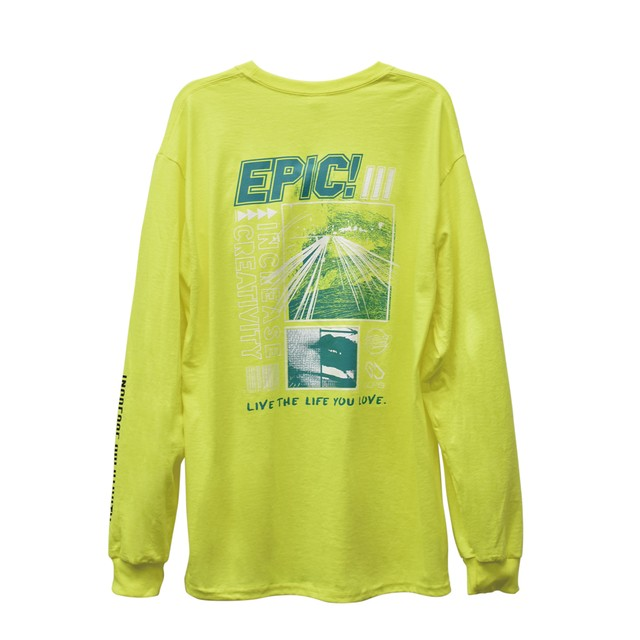 EPIC! Long Sleeve / Lightning yellow