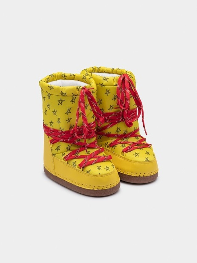 【19AW】ボボショセス(BOBO CHOSES) -YELLOW COSMO BOOTS[17.5cm/18cm]