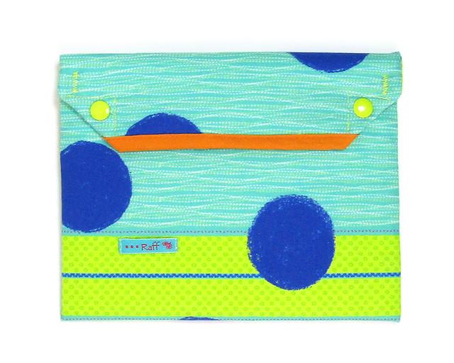 保冷ポーチ クーラーポーチ 大きな青サークル