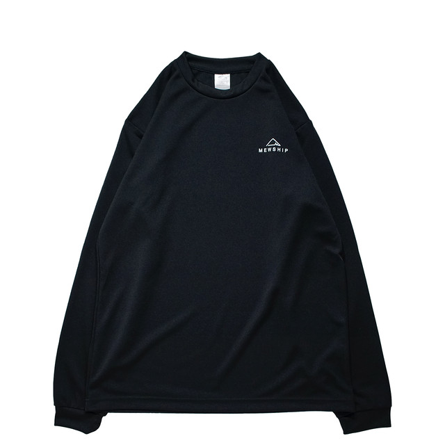 BASE LOGO  L/S PL <Black×White> - メイン画像