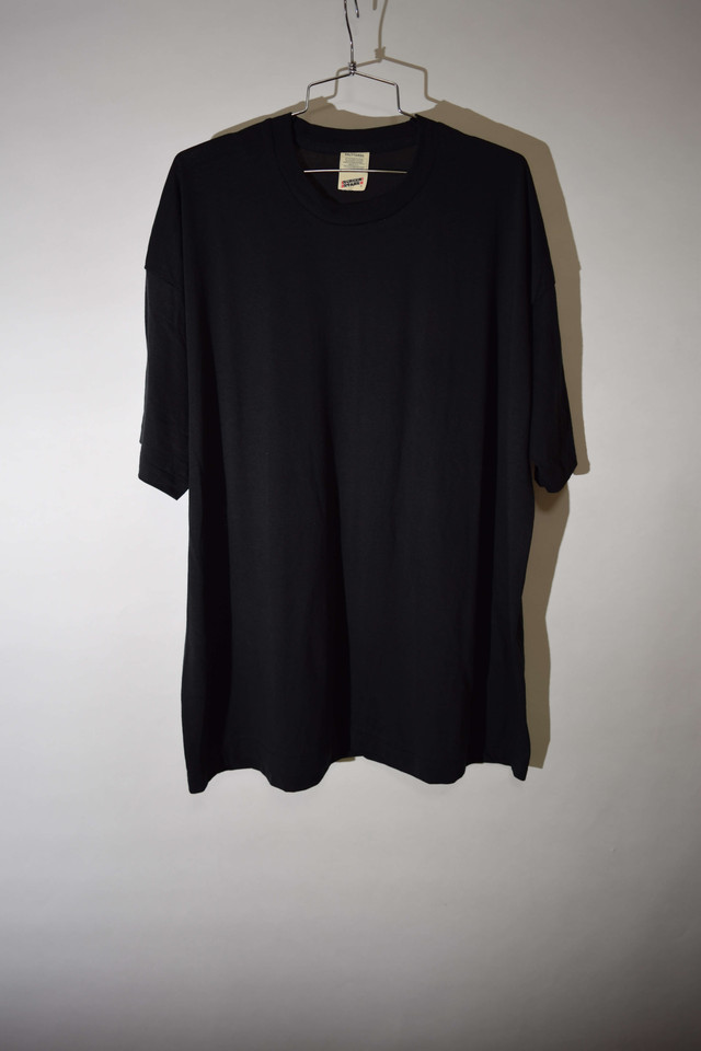 【XLサイズ】 SUPER SCREEN STARS スクリーンスターズ BLANK Tシャツ Tee BLACK ブラック 400601190504
