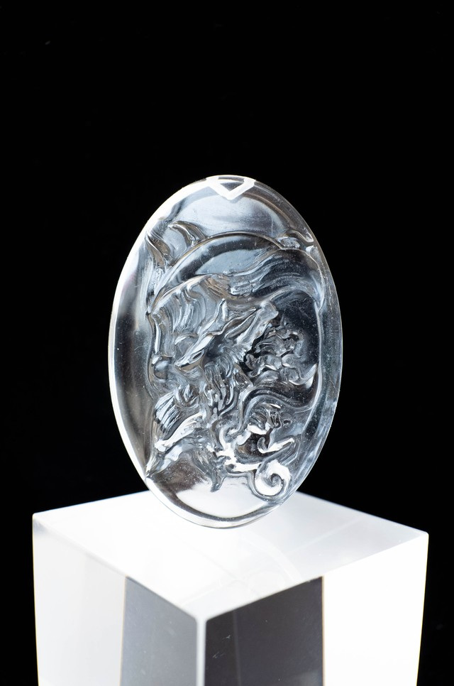 Carving Quartz - 012 Ninetails fox