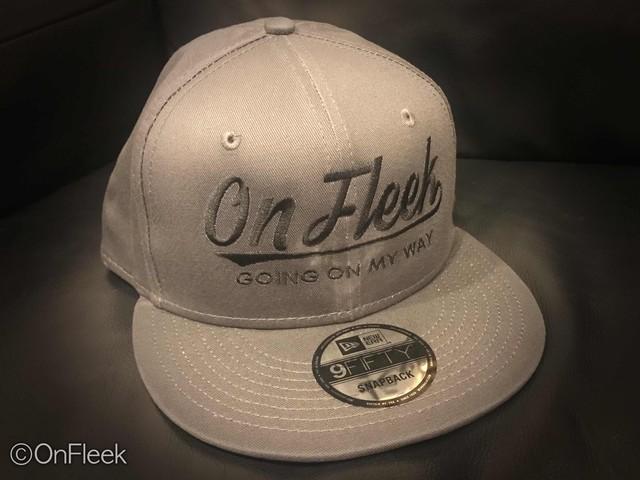 OnFleek NEWERA CAP (charcoal-gray)