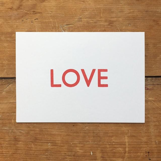 カード LOVE