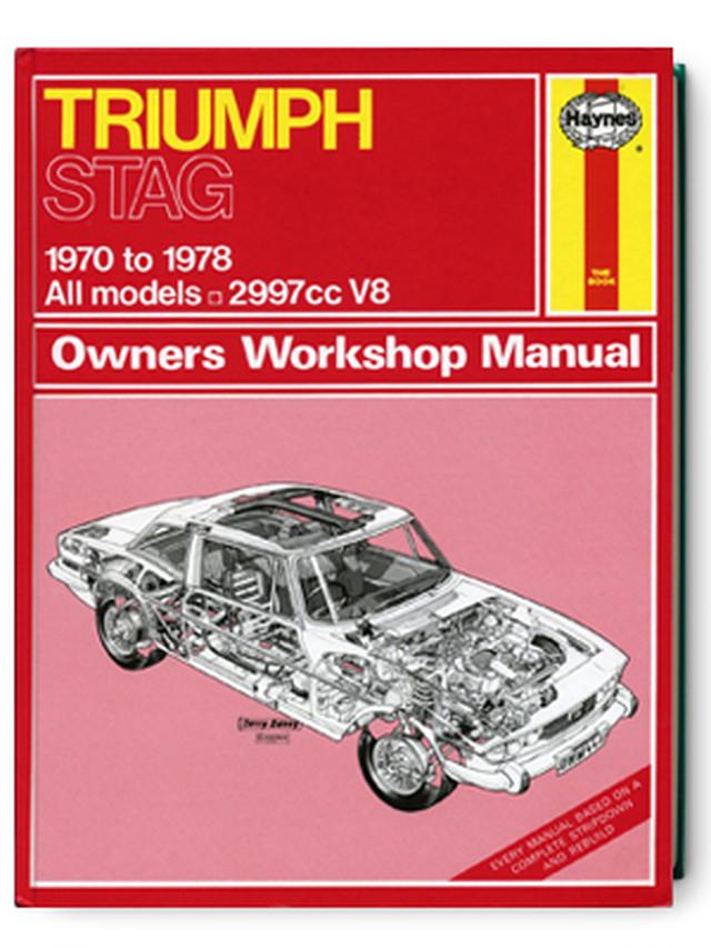 トライアンフ・スタッグ・1970-1978・オーナーズ・ワークショップ・マニュアル