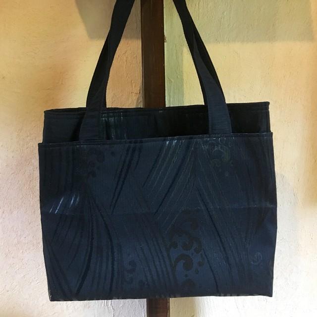 帯のミニトートバッグ帯のミニトートバッグ『蘇芳(すおう)』