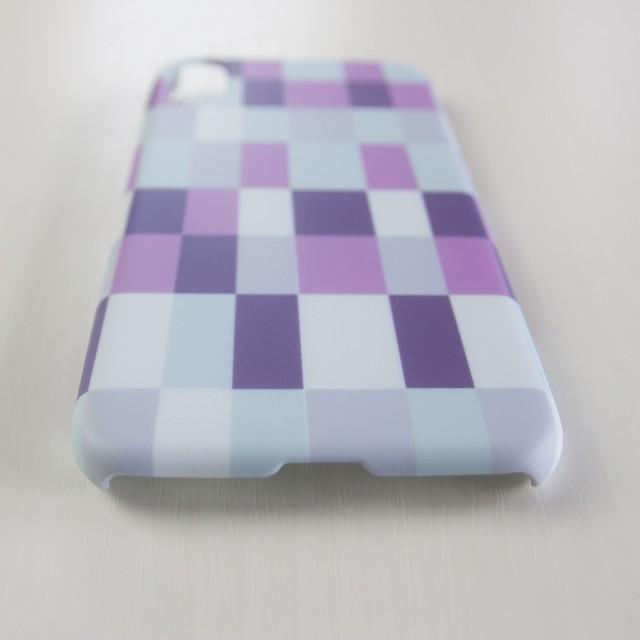amane cu〔スマートフォンケース(ハード・マットタイプ)〕ひしつなぎ【テンキアメ】- for iPhone