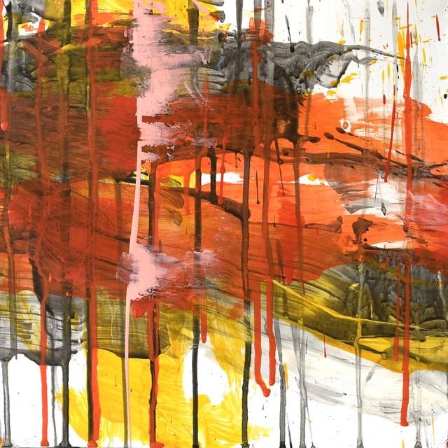 絵画 絵 ピクチャー 縁起画 モダン シェアハウス アートパネル アート art 14cm×14cm 一人暮らし 送料無料 インテリア 雑貨 壁掛け 置物 おしゃれ 抽象画 現代アート ロココロ 画家 : tamajapan 作品 : t-37