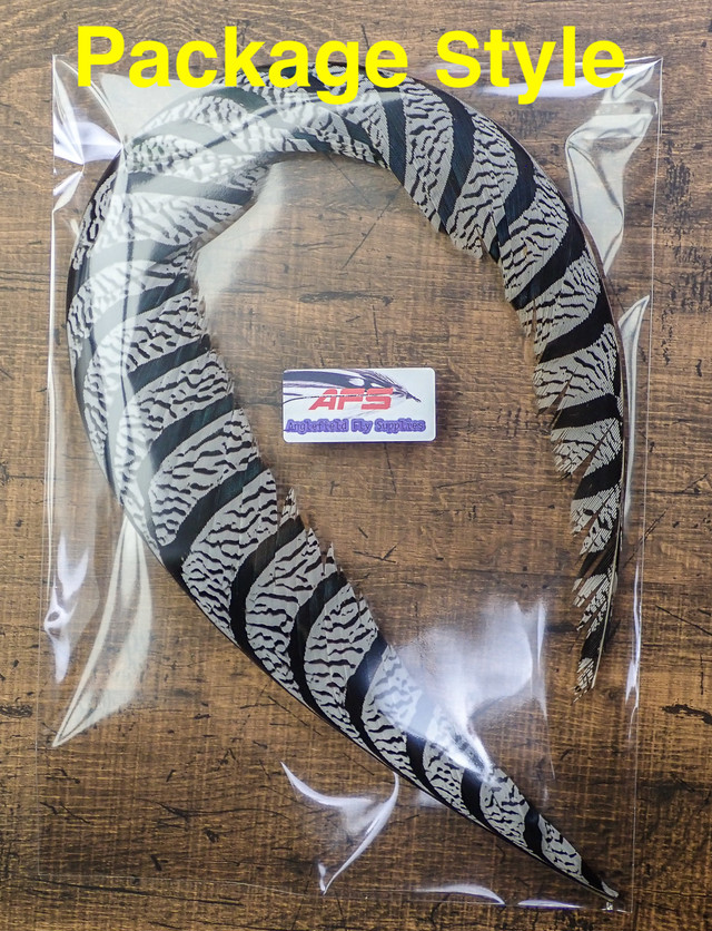 Lady Amherst Pheasant Center Whole Tail | Anglefield Fly Supplies powered  by BASE