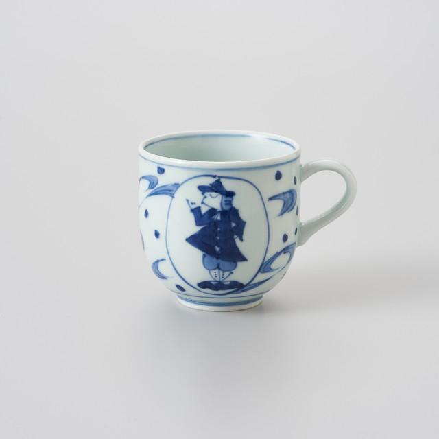 【青花】大航海 ミニマグカップ