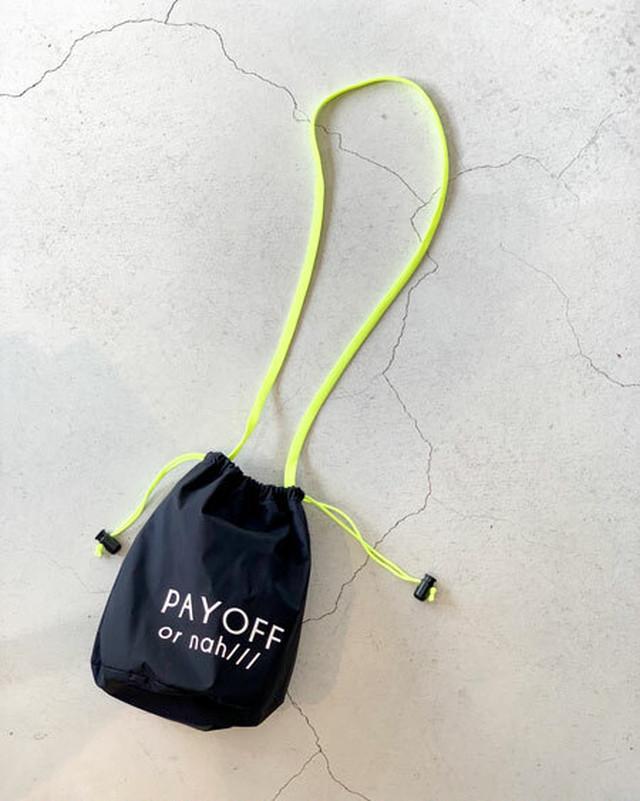 drawstring bag / intoxic.