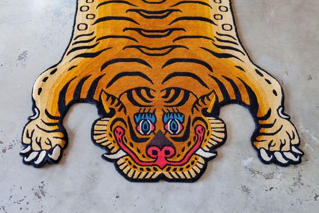 Tibetan Tiger Rug 《Lサイズ•ウール034》チベタンタイガーラグ