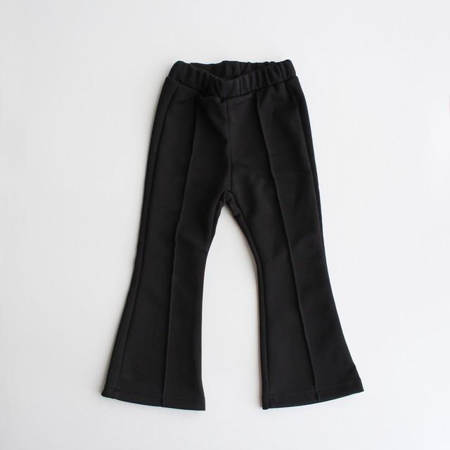 Flare Leggings Jersey Pants ブラック 5-13※1点のみメール便可