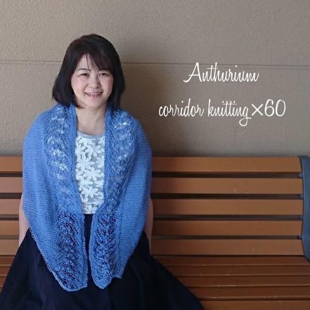 【8月31日まで販売】(糸のみ)アンスリウムの編み物キット byコリドーニッティング