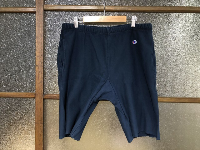 CHAMPION REVERSE WEAVE SWEAT SHORT PANTS (NAVY)