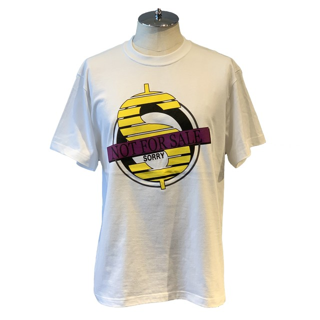 NOT FOR SALE Circle Logo T-Sh Yellow