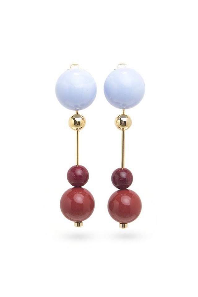 Candy Ball Earrings | Lt. BLUE