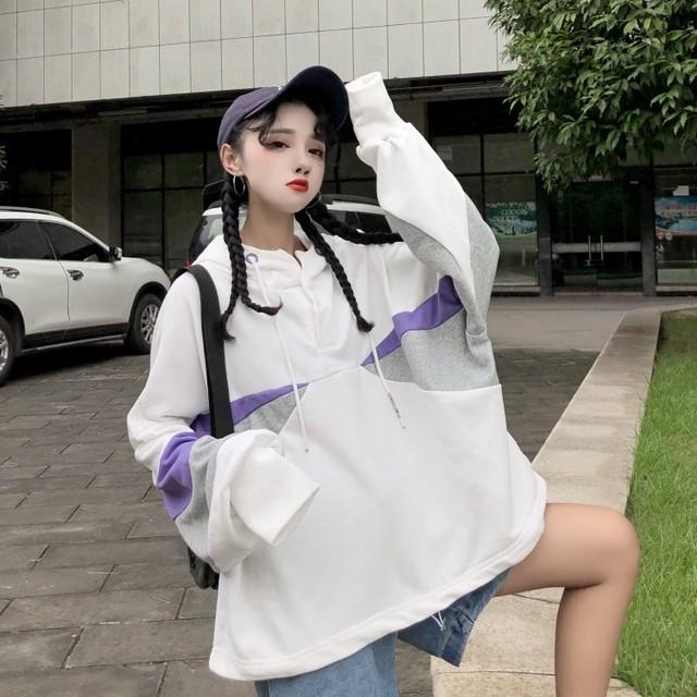 襟付き カジュアル 長袖セーター【0789】