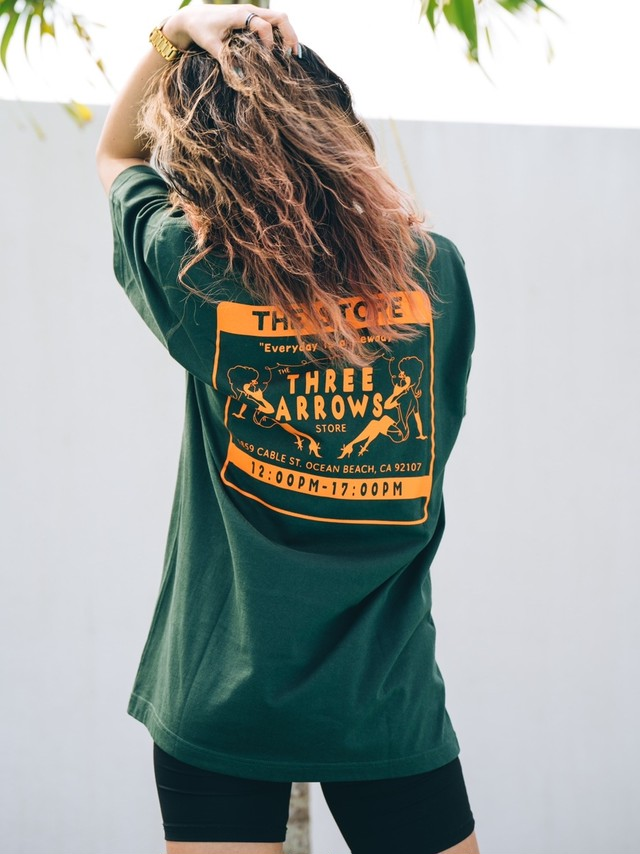 THE STORE S/S TEE(green)