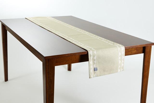 テーブルランナー オリーブレース