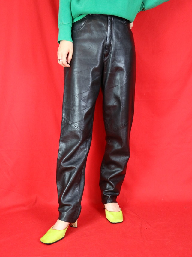 leather pants【0532】