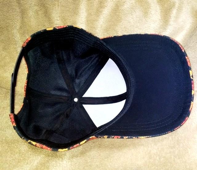 牡丹家紋黒 Baseball Cap・ベースボールキャップ