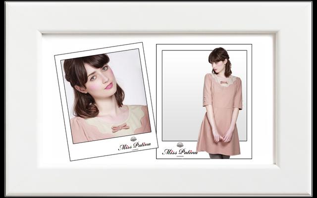Miss Patina/ミス・パティーナ Tea For Two ドレス/ピンク