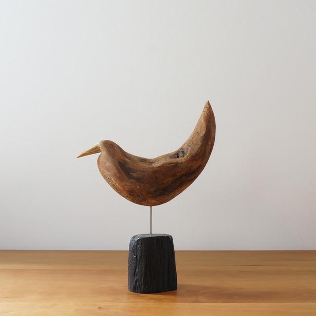 流木の鳥 A / 針原修 × 南部鉄器