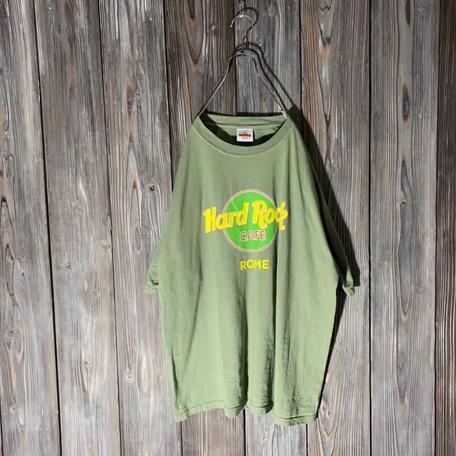 [Hard Rock Cafe]Roma khaki T shirt