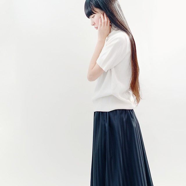 STRIPE SKIRT ●YVETTE●