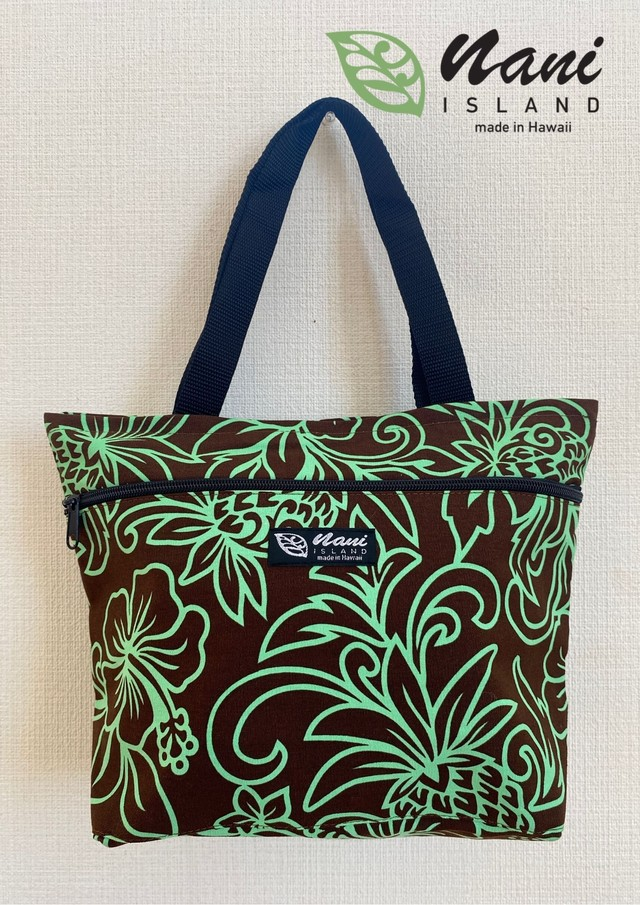 nani island tote bag zipper Mサイズ