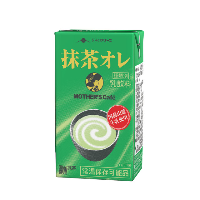 MOTHER'S Cafe 抹茶オレ250ml(24本入り)