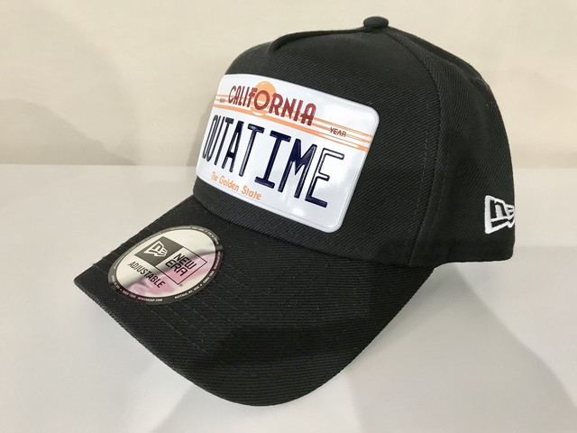 NEW ERA 9FORTY A-Frame BACK TO THE FUTURE CAP (BLACK)