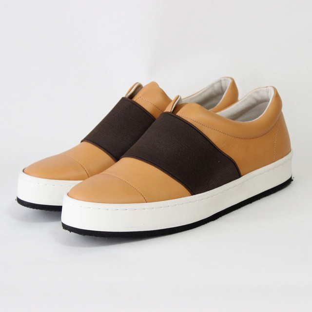 steer gom sneaker/BLK,CAM/l.o.b【即納】