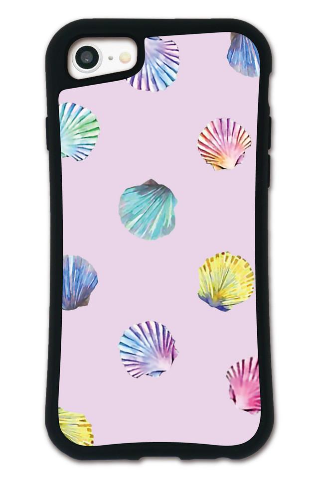 NiCORON シェル ピンク WAYLLY(ウェイリー) iPhone 8 7 XR XS X 6s 6 Plus XsMax対応!_MK_