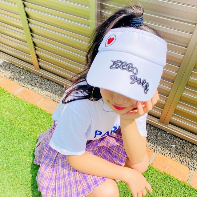 48~53cm ★ サンバイザー POP 帽子 ロゴ入り