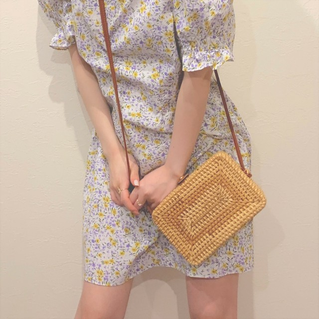 square basket bag (S19-08016K)