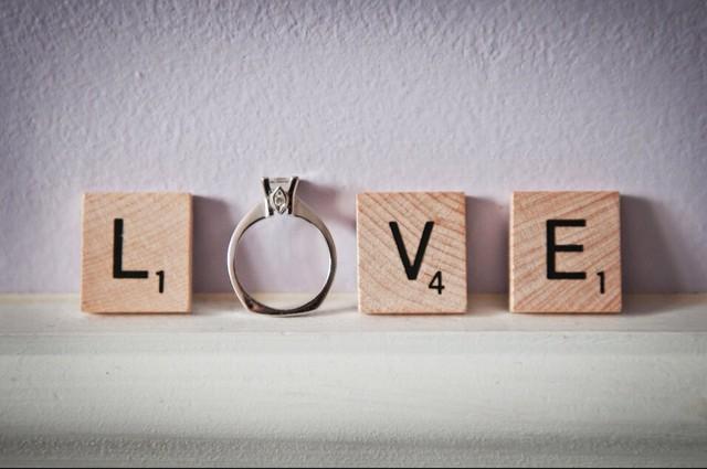 """フォトプロップス スクラブル """"LOVE"""""""